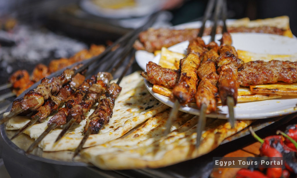 Kabab & Kofta - Egyptian Food - Egypt Tours Porta