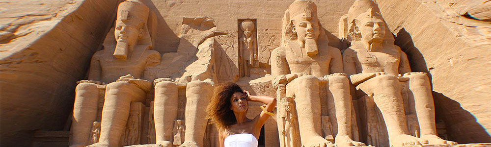 Day One:Fly from Cairo to Aswan - Visit Abu Simbel Temple