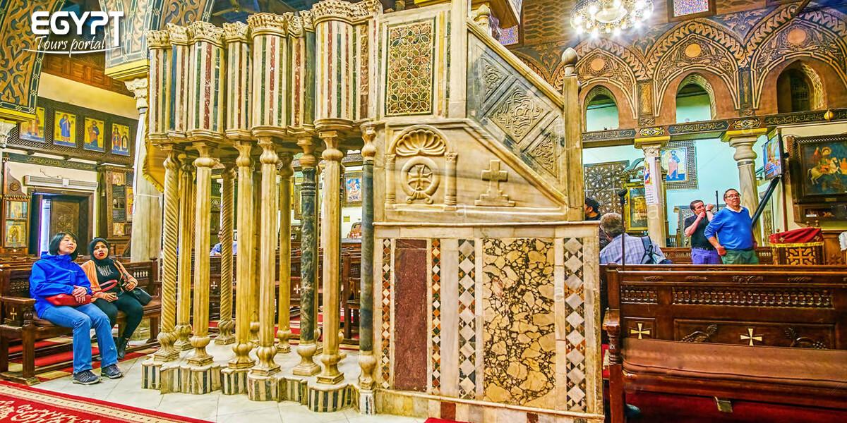 Tours to the Hanging Church - Egypt Tours Portal