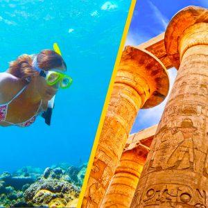 Luxor Tour & Snorkeling Excursion from Safaga Port