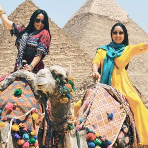Camel Ride in Giza Pyramids